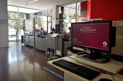 La Biblioteca vol donar resposta a les necessitats de les persones amb capacitats diverses (foto: Ajuntament de Rubí).