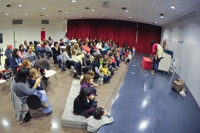 Les activitats es faran a l'auditori de la Biblioteca (foto: Localpres).