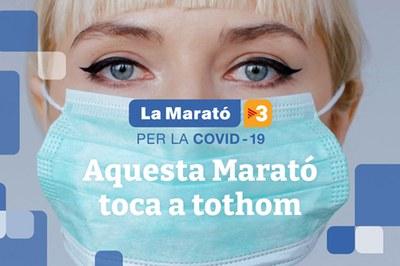 Imatge de La Marató d'aquest any.