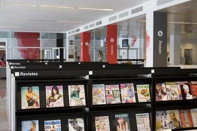A partir del dilluns 31 d'agost, els usuaris de la biblioteca podran tornar a utilitzar tots els serveis que ofereix l'equipament.
