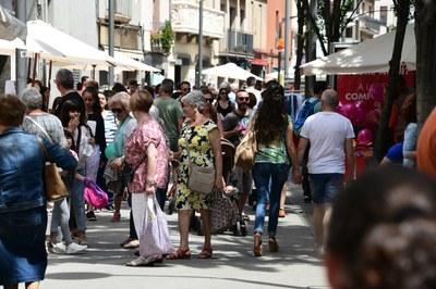 Els establiments podran vendre productes al carrer (foto: Ajuntament de Rubí -  Localpres).
