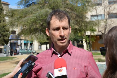 El regidor Sergi Garcia ha fet balanç de la campanya.