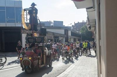 Bicicletada del Mercat Municipal (foto: César Font)