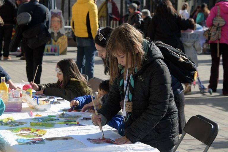 Els infants han estat protagonistes de la SEPR (foto: Ajuntament de Rubí - Localpres)