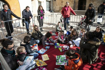 Espai de lectura (foto: Ajuntament - Lali Puig)