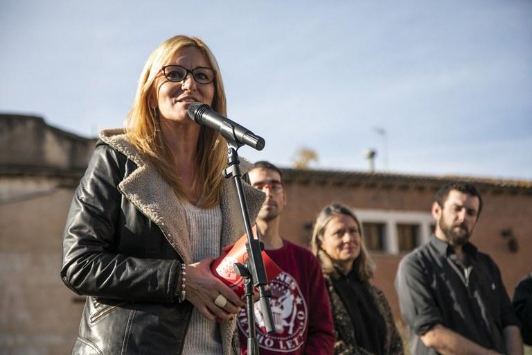 L'alcaldessa, durant la seva intervenció (foto: Ajuntament - Lali Puig)