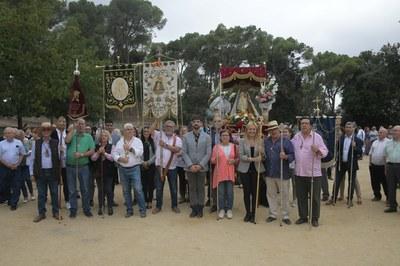 L'any passat, l'Hermandad Virgen de la Luna va celebrar el 50è aniversari del romiatge a Catalunya (foto: Ajuntament de Rubí – Localpres).
