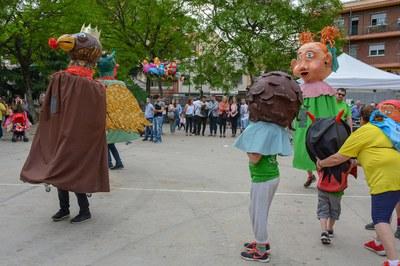 La 9a Trobada Gegantera ha comptat amb la participació d'una dotzena de colles (foto: Localpres).