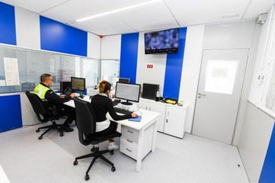 La sala de control és una de les que s'ha actualitzat (Foto:Ajuntament/Localpres).