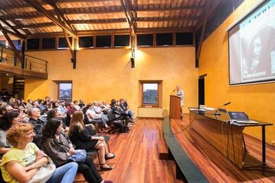 L'alcaldessa ha obert el festival (foto: Ajuntament de Rubí – Localpres).