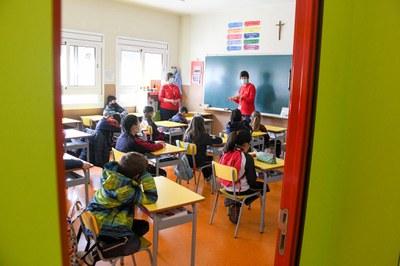 Les Agents pel Civisme han dut la seva tasca a les aules (Foto: Ajuntament/Localpres).