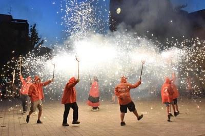 El foc tornarà a la Festa Major Petita de Sant Roc (foto: Ajuntament de Rubí – Localpres).