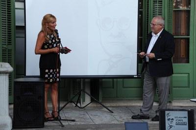 Inauguració de l'exposició sobre cultura popular (foto: Localpres)
