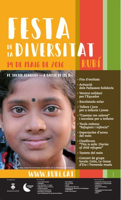 Cartell de la Festa de la Diversitat