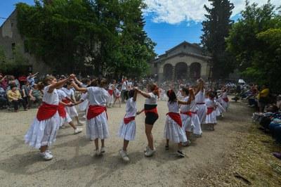 Una altra instantània del ball dels Xatos (foto: Ajuntament - Localpres)