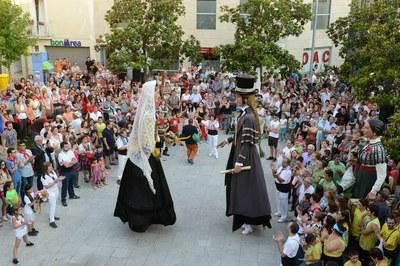 Les entitats de cultura popular i tradicional precediran el pregó inaugural (foto: Localpres).