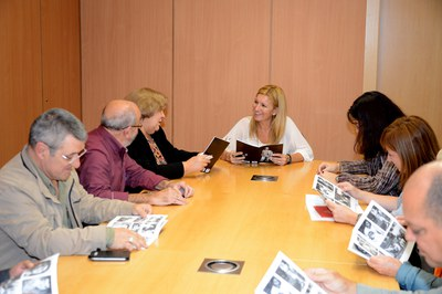Reunió a l'Ajuntament (foto: Localpres)
