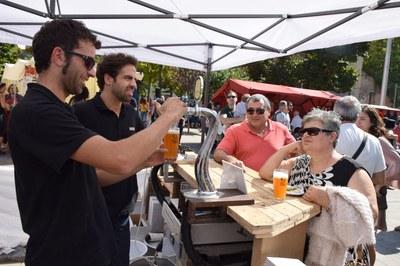 1a edició de la Fira de la cervesa artesana i el formatge (foto: Localpres).