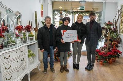 El primer premi se l'ha endut Carmen Art Floral (foto: Ajuntament de Rubí – Localpres).