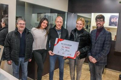 El tercer premi ha estat per a F&L Joiers (foto: Ajuntament de Rubí - Localpres)