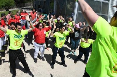 Durant la jornada de portes obertes s'han dut a terme diverses activitats lúdiques (foto: Localpres)