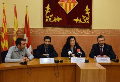 Roda de premsa de presentació del projecte SODALES (foto: Localpres).