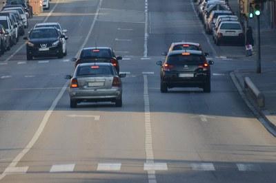La Generalitat recomana reduir els trajectes en vehicle privat (foto: Ajuntament de Rubí - Localpres).
