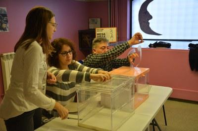 Les urnes s'han obert a les 9 h (foto: Ajuntament de Rubí).