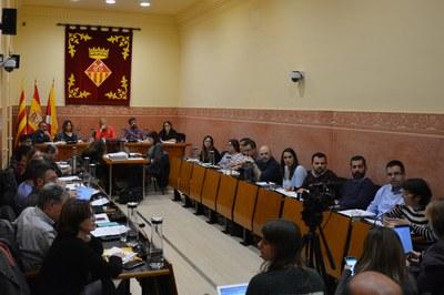 El Ple ordinari del mes de novembre s'ha celebrat aquest dijous (foto: Ajuntament de Rubí).