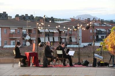 Trio de Clarinets de l'Escola Municipal de Música Pere Burés (foto: Ajuntament de Rubí - Localpres)