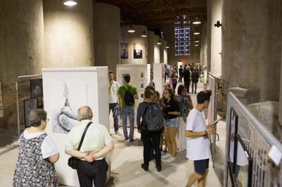 L'exposició es pot visitar a la Sala de Tines (foto: Localpres)