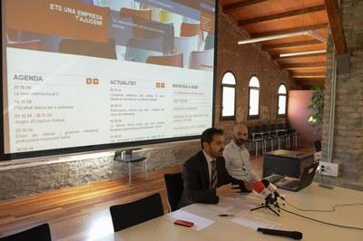 El regidor Jaume Buscallà ha presentat el nou portal (foto: Localpres).