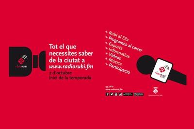 La nova programació de l'emissora municipal engega el proper 2 d'octubre.