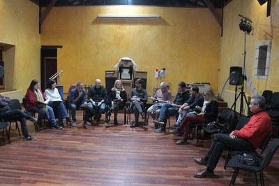 La trobada ha tingut lloc al Castell (Foto: Ajuntament/Localpres).