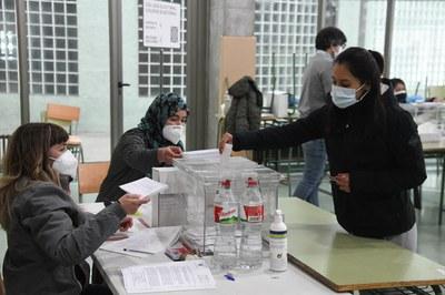 La participació es manté força per sota de la registrada el 2017 (foto: Ajuntament de Rubí - Localpres).