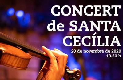 Cartell del concert obert a tothom (foto: Ajuntament de Rubí).