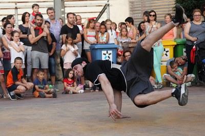 Hip hop i break dance seran alguns dels ingredients d'aquesta Castanyada (foto: Localpres).