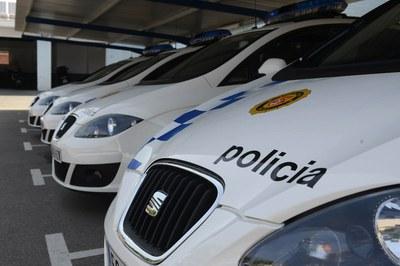 La Policia Local ha localitzat els dos individus a la Plana de Can Bertran (foto: Localpres).