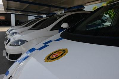 La Policia Local vetlla pel compliment de normes per fer front la pandèmia (Foto: Ajuntament/Localpres).