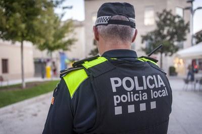 La Policia Local ha centrat part de la seva activitat en combatre els efectes de la pandèmia (Foto: Ajuntament/Localpres).