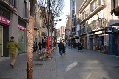 L'increment de l'activitat comercial augmenta la possibilitat de furts i robatoris (foto: Localpres).