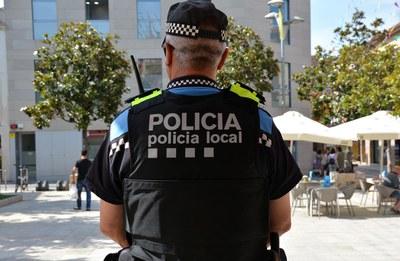 La Policia Local continua investigant els fets (Ajuntament/Localpres).