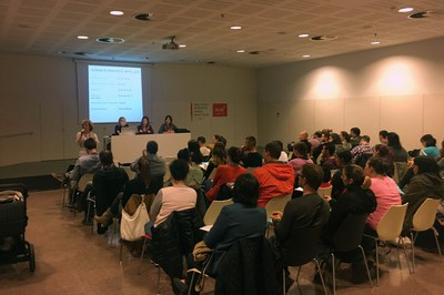 La xerrada ha estat organitzada pel Servei d'Educació de l'Ajuntament.