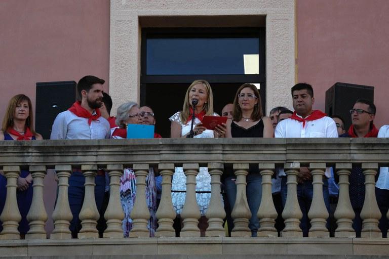 El primer pregó d'Ana María Martínez (foto: Localpres)