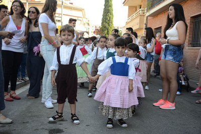 Els nens de l'Esbart (foto: Localpres)