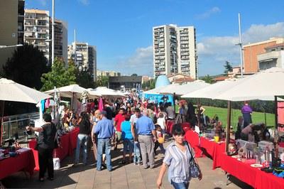La segona edició de la Festa del Comerç repetirà ubicació a la Rambla del Ferrocarril (foto: Localpres).