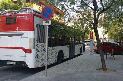 El servei de RubíBus funciona al 65% de la seva capacitat (foto: Ajuntament de Rubí).
