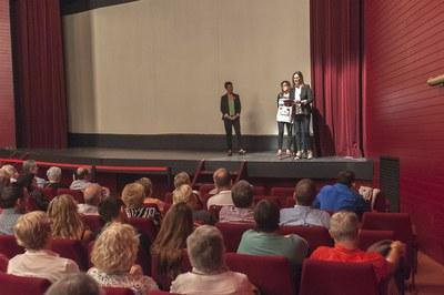 Un moment de la presentació a La Sala (foto: Cesar Font).