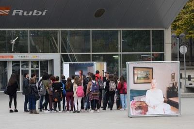 Diversos centres educatius han participat en visites guiades a La Nuu (foto: Localpres).