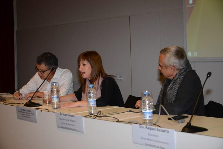 la regidora de Serveis Socials ha participat a la iniciativa (Foto: Localpres)